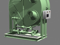 3d model of water distiller
