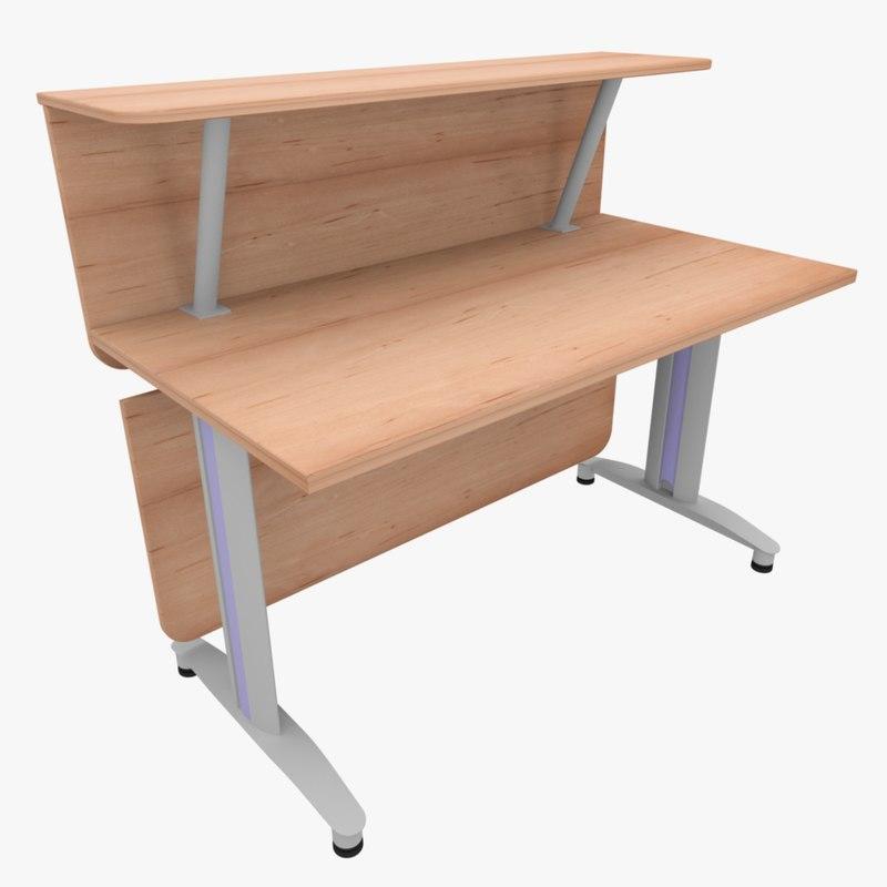 rack office table fbx