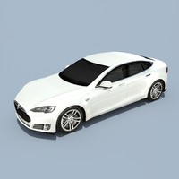 Tesla Model S Solid White