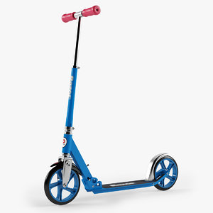 3d scooter razor lux