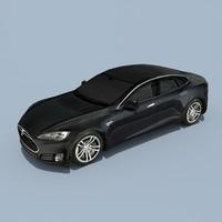 3d model tesla s