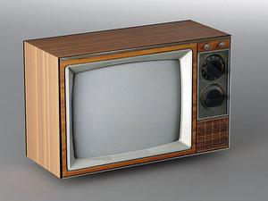 old tv 3d 3ds