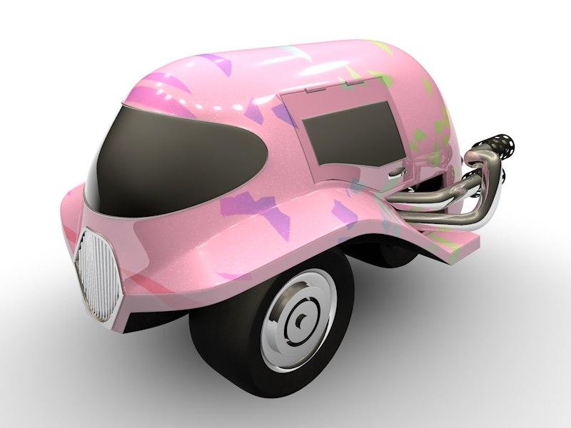 c4d vehicle car