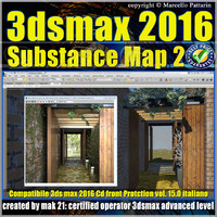 015 3ds max 2016 Substance Map volume 15.0_cd front