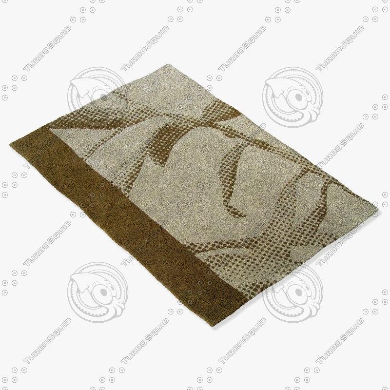 roche bobois rug photo 3ds