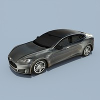 Tesla Model S Titanium Metallic