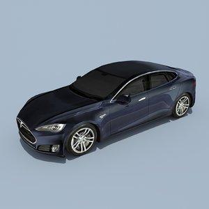 3d tesla s model