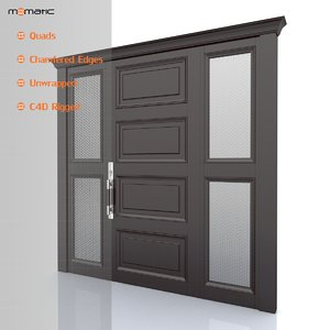 3ds max entry door