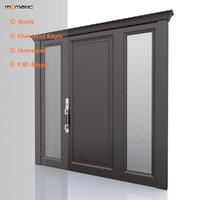 3d model entry door