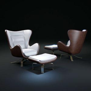 3d promemoria-butterfly-chair model
