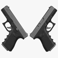 Compact Pistol Glock 19 Black