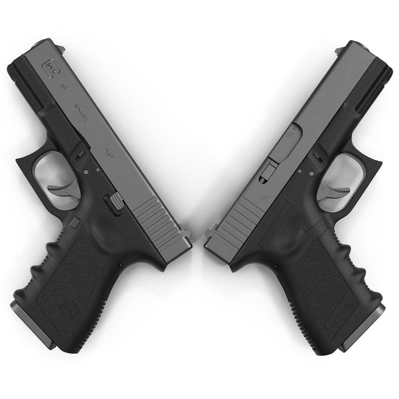 3ds compact pistol glock 19