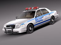 Ford Crown Victoria Police Car 1998-2011