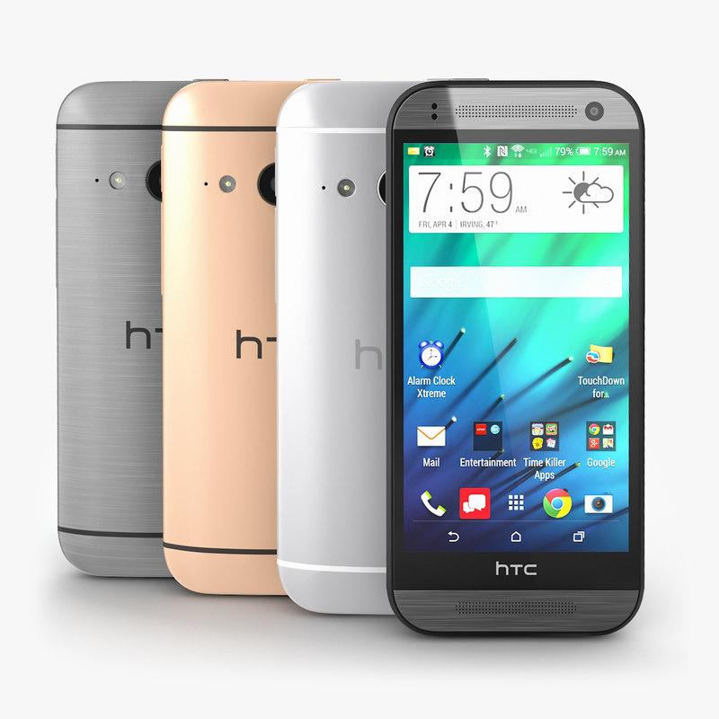 3d model of htc mini 2