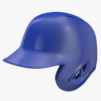 Baseball Helmet Blue One Side Generic