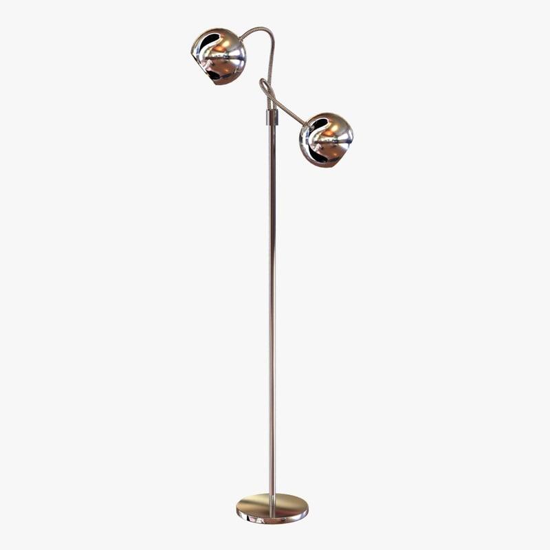light lamp floor 3d 3ds