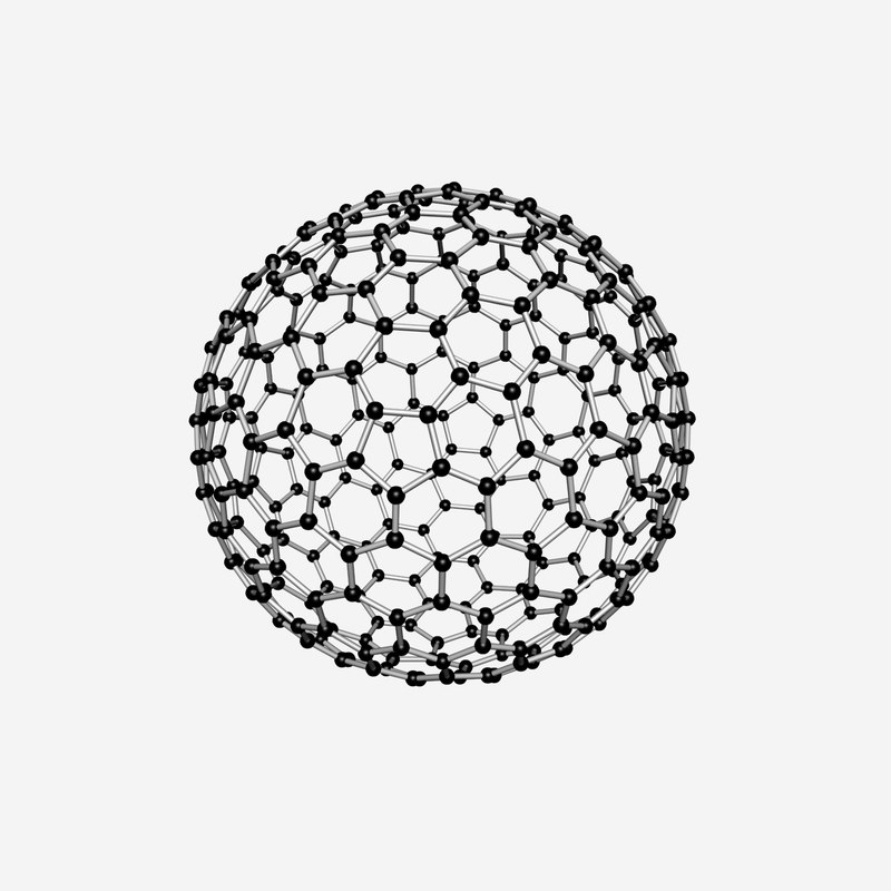 buckyball medicinal 3d max