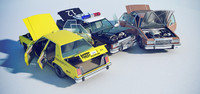 Ford Crown Victoria 1985 (Police, Taxi & Civilian)