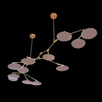 lindsey adelman branching discs ceiling light