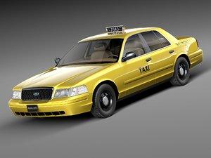 3d model crown victoria 1998