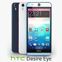 3d c4d htc desire eye