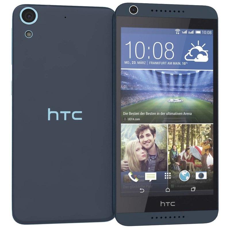 htc desire 626g blue 3d 3ds