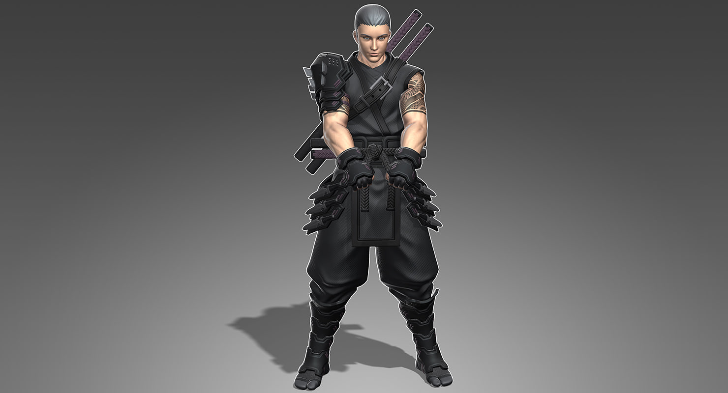 max armored male ninja