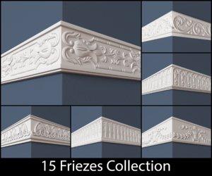 frieze 15 3d model