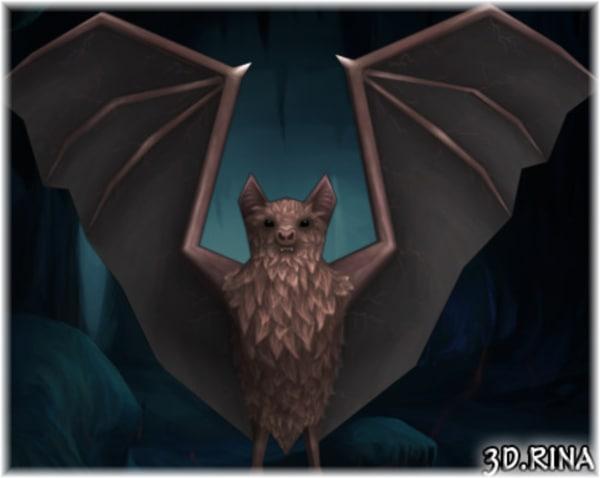 bats pack animations 3d fbx