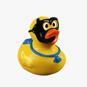 duck toy 3d model