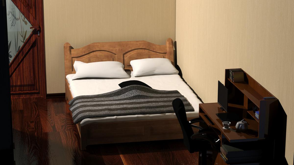 3d model bed pillow sheet