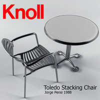 toledo stacking chair max
