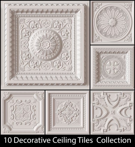 obj decorative ceiling tile