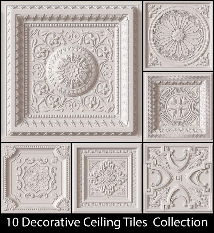 obj decorative ceiling tile