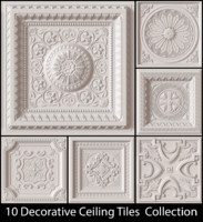 10 Decorative Ceiling Tile Collection