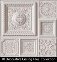 10 Decorative Ceiling Tile Collection