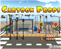 Cartoon Street Props