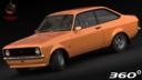 Ford escort 3D models
