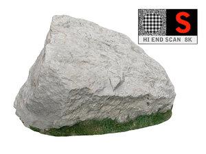 3d obj jurassic rock scanned 8k