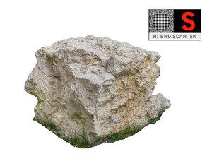 obj jurassic rock scanned 8k