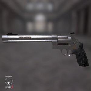 smith wesson 500 revolver obj