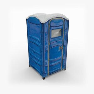 portable toilet 3d 3ds