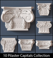 3ds max pilaster capital