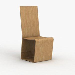 bar stool 147 3d obj