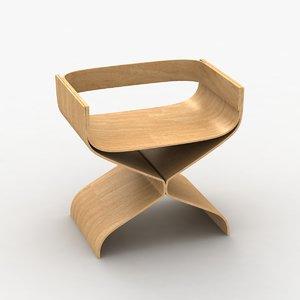 3d bar stool 148