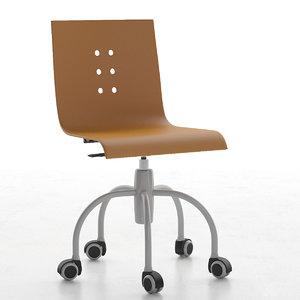 children chair 3d max