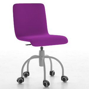 children chair 3d model