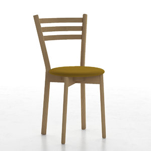 3d chair stool kid model