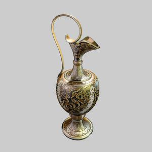 ceramic pitcher 3d c4d