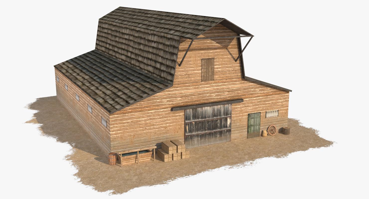 max wild west barn